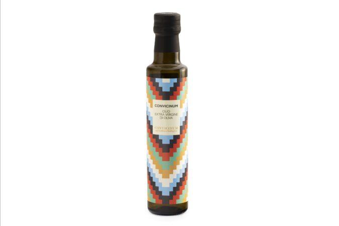 """Olio extra vergine Biologico """"Convicinum"""" blend 12 Bottiglie"""